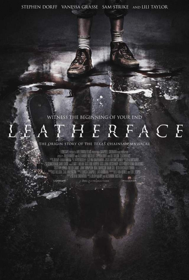 Leatherface - Teaser Artwork