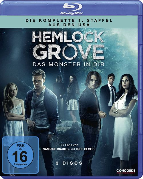 Hemlock Grove - Staffel 1 - Blu-ray Cover FSK 16