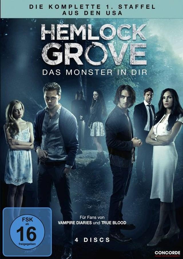 Hemlock Grove - Staffel 1 - DVD Cover FSK 16