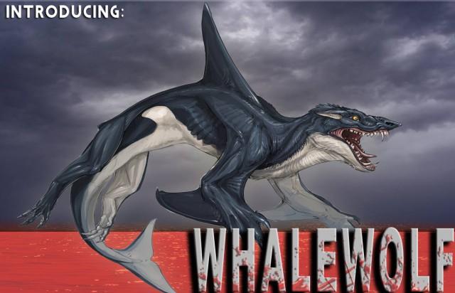 """""""Sharktopus"""" hat einen neuen Gegner: Halb Wal, halb Wolf"""