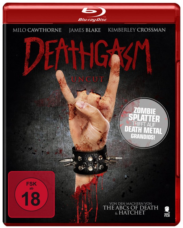 Deathgasm - Blu-ray Cover FSK 18