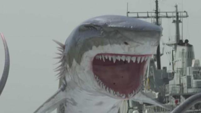 """Kann der Whalewolf Sharktopus stoppen? Erster Teaser Trailer zu """"Sharktopus vs. Whalewolf""""!"""
