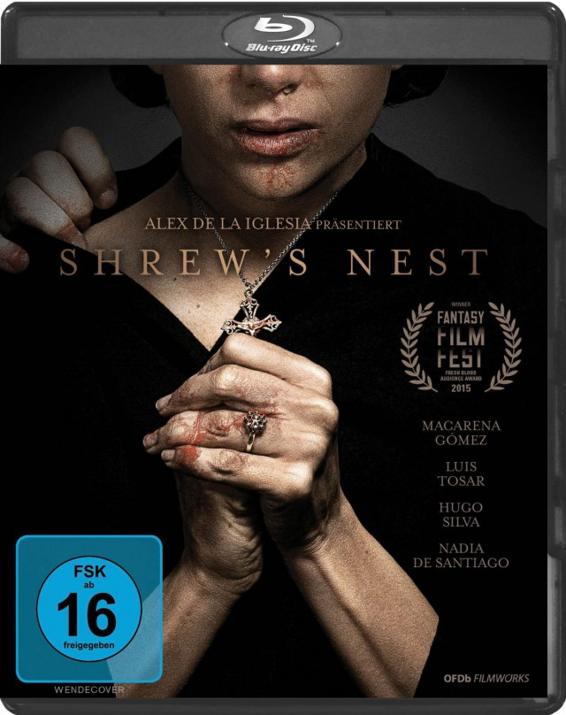 Shrews Nest - Blu-ray Cover FSK 16