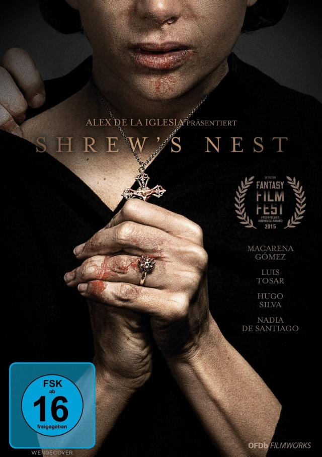 Shrews Nest - DVD Cover FSK 16