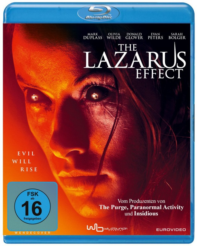 The Lazarus Effect - Blu-ray Cover FSK 16