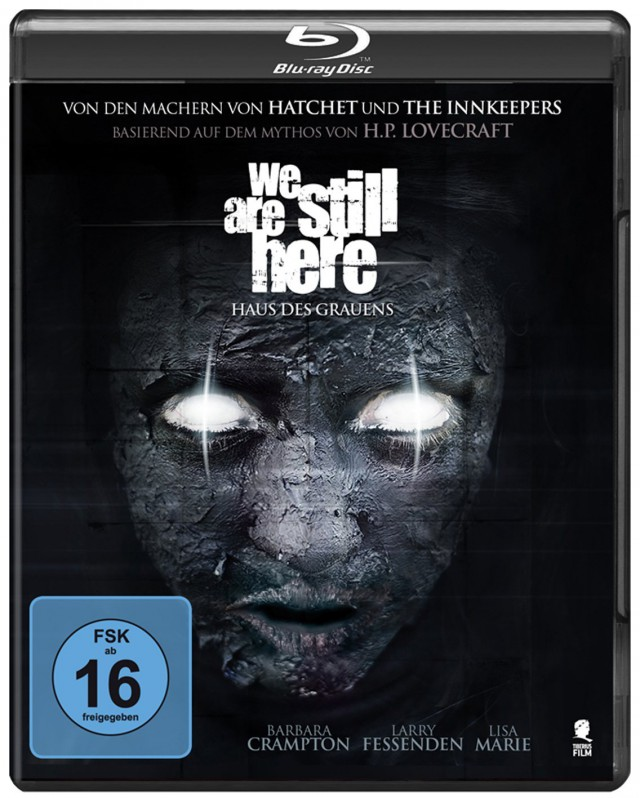We Are Still Here - Haus des Grauens - Blu-ray Cover FSK 16