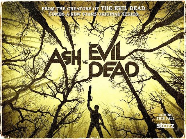 Ash Vs Evil Dead Teaser Artwork Poster