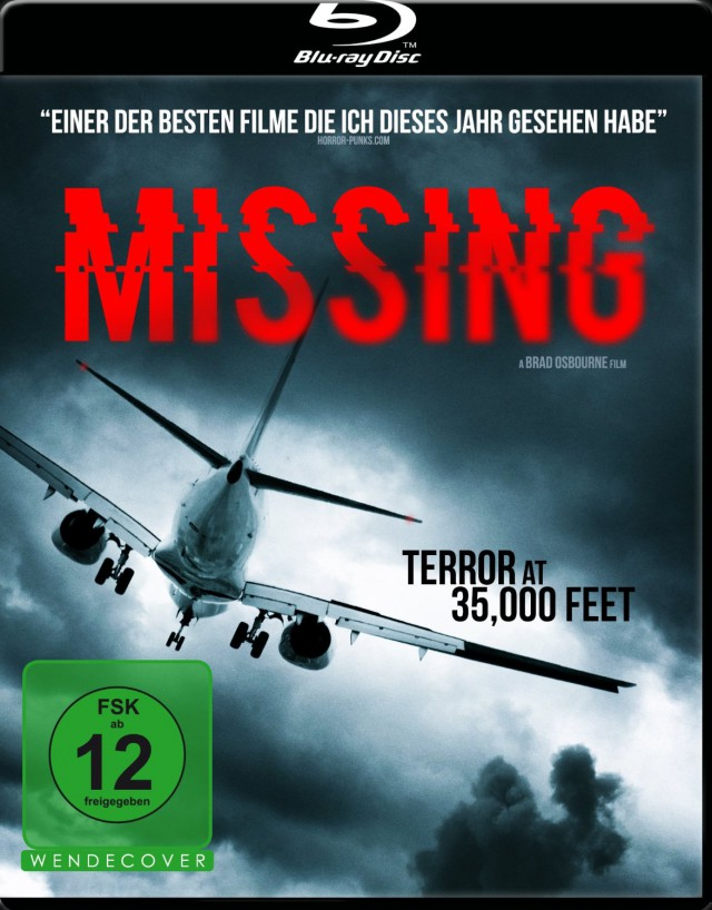 Missing - Blu-ray Cover FSK 12
