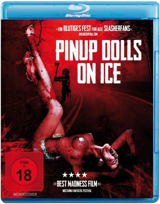 Pinup Dolls On Ice - Blu-ray Cover FSK 18