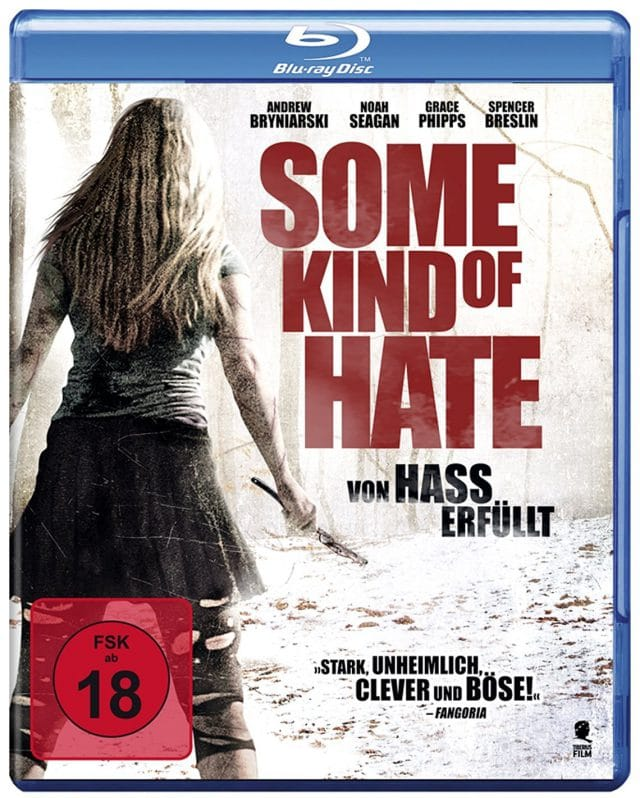 Some Kind of Hate Von Hass erfüllt - Blu-ray Cover FSK 18