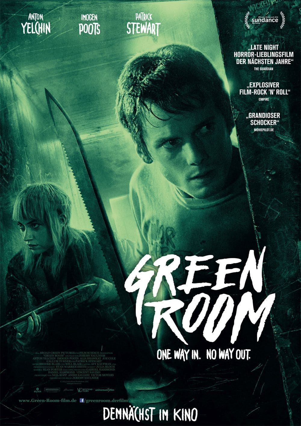 Green Room German Stream