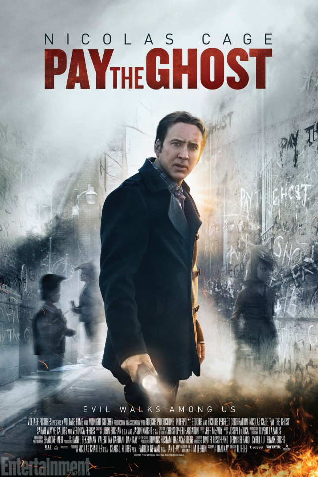 Pay the Ghost - Teaser Poster