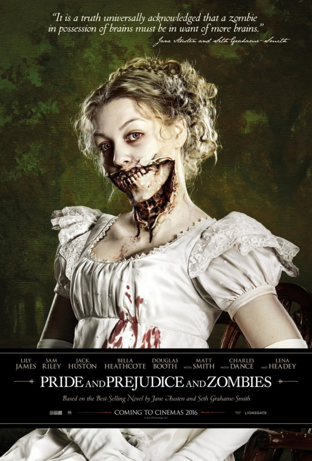 Pride and Prejudice and Zombies - Teaser Poster
