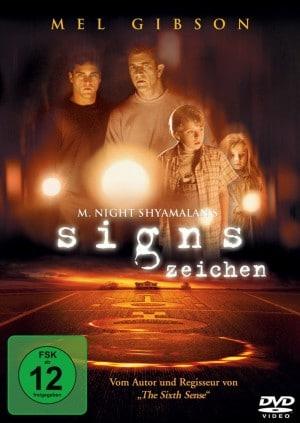 Signs - DVD Cover FSK 12