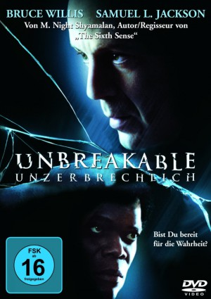 Unbreakable - Unzerbrechlich - DVD Cover FSK 16