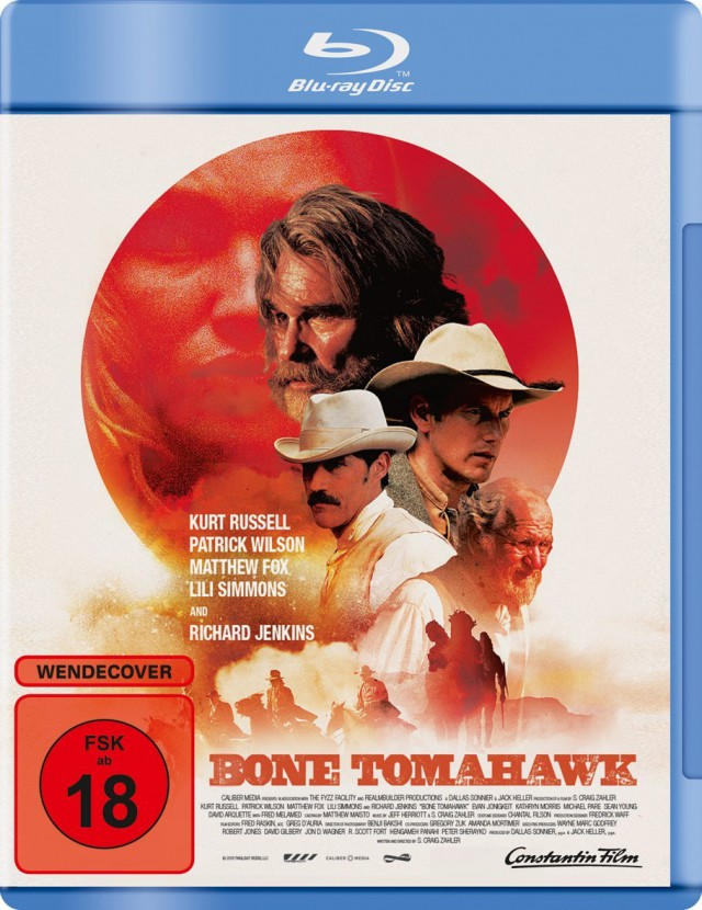 Bone Tomahawk - Blu-ray Cover FSK 18