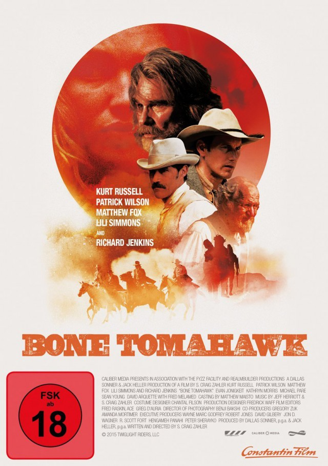 Bone Tomahawk - DVD Cover FSK 18