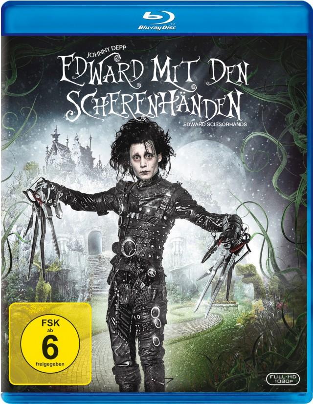 Edward mit den Scherenhänden - Blu-ray Cover FSK 6