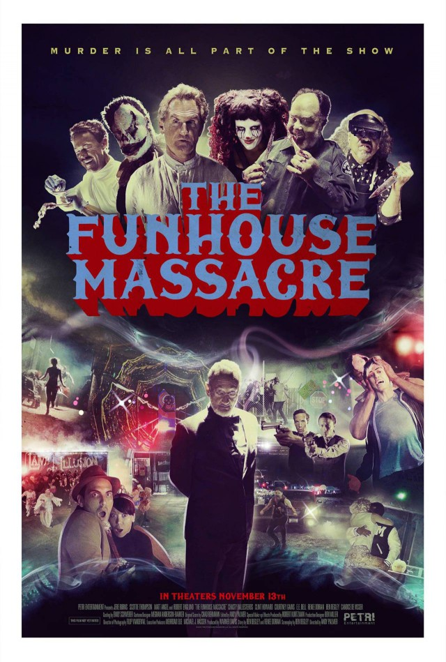 The Funhouse Massacre - Teaser Poster