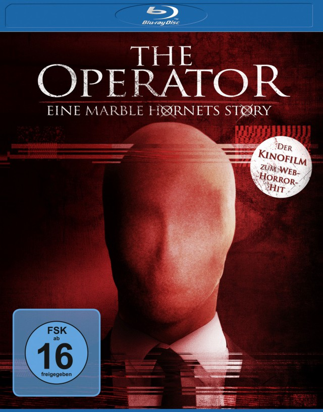 The Operator - Eine Marble Hornets Story - Blu-ray Cover FSK 16