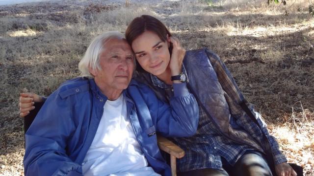 """Meir Zarchi und Jamie Bernadette am Set von """"I Spit On Your Grave - Deja Vu"""""""