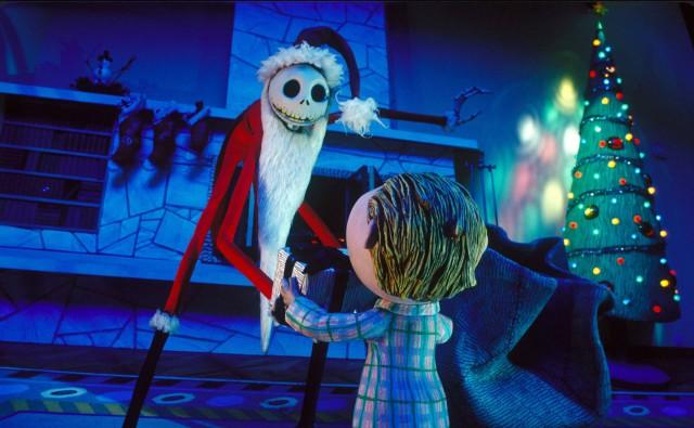 """Der Fantasy Stop Motion Film """"Nightmare Before Christmas"""" wurde 1993 von Henry Selick gedreht. Die Idee für das Drehbuch lieferte Tim Burton."""