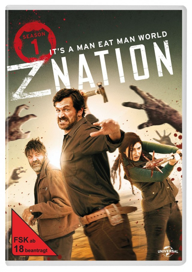 Z Nation - Staffel 1 - DVD Vorabcover FSK 18