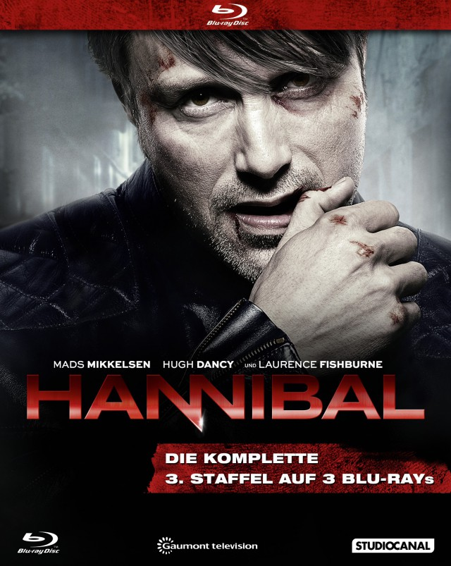 Hannibal - 3. Staffel . Blu-ray Cover