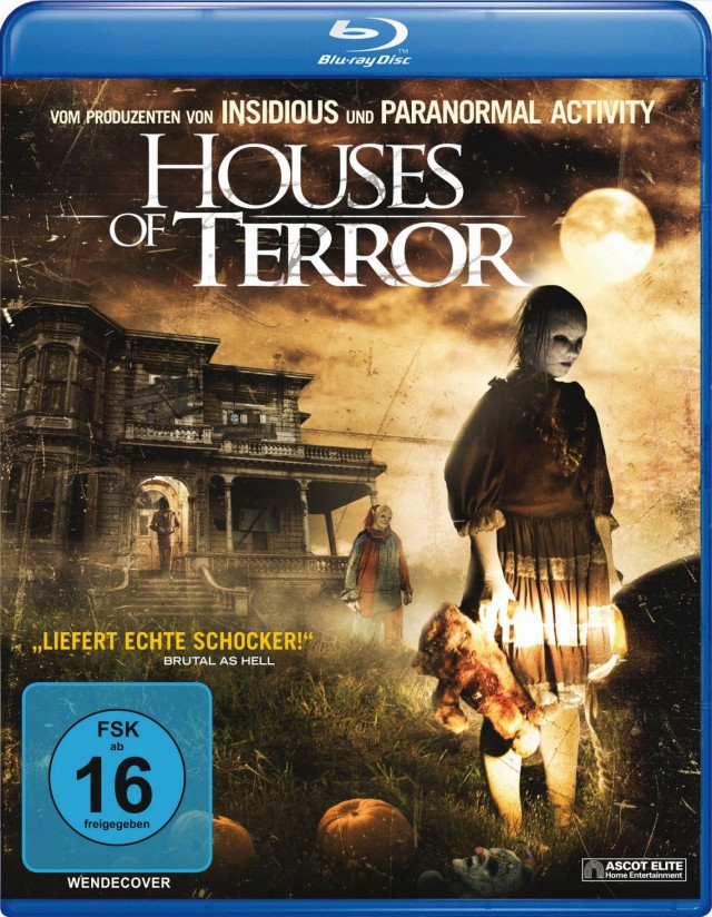 Houses of Terror - Blu-ray Cover FSK 16