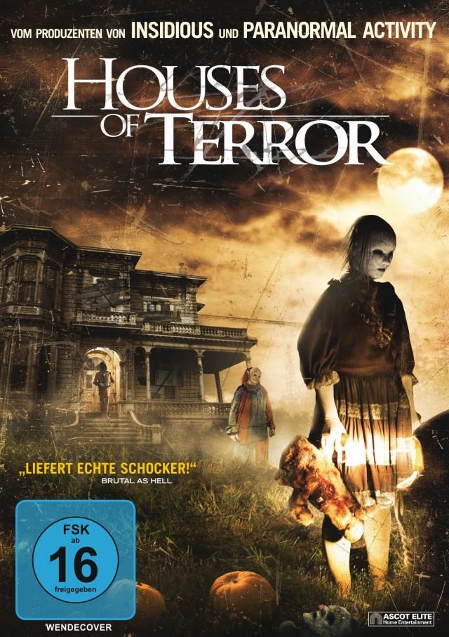 Houses of Terror - DVD Cover FSK 16