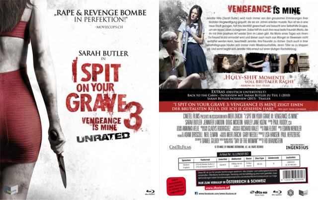 Vorder und Rückseite der Blu-ray