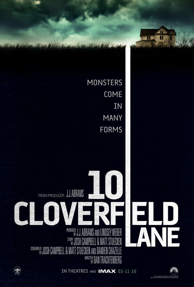 10 Cloverfield Lane - Teaser Poster