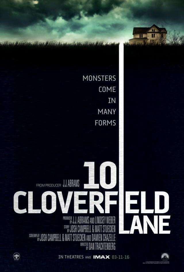 10 Cloverfield Lane - Teaser Poster