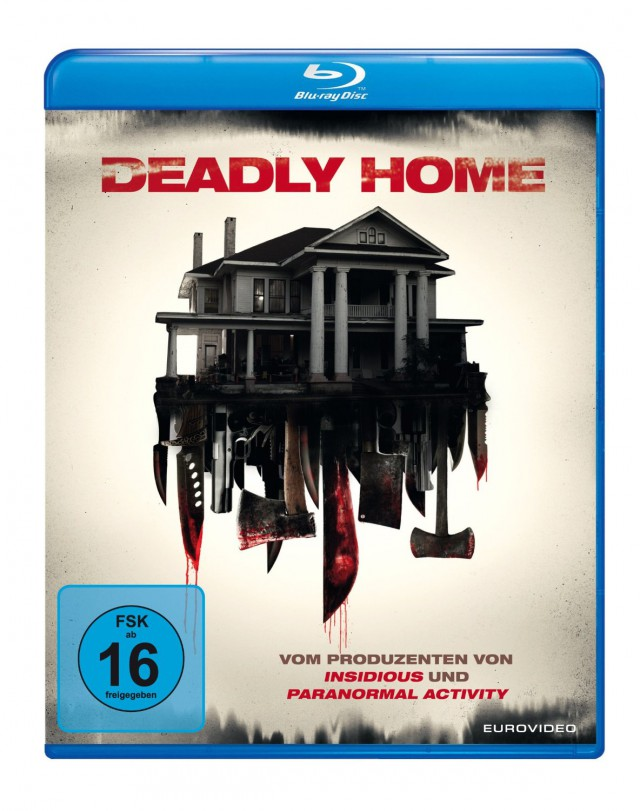 Deadly Home - Blu-ray Cover FSK 16