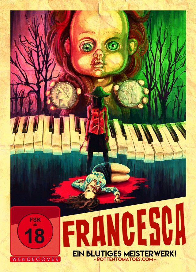 Francesca - DVD Cover FSk 18