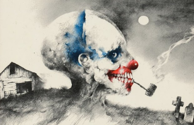 """Scary Stories to Tell in the Dark"" Zeichnung von Künstler Stephen Gammell"