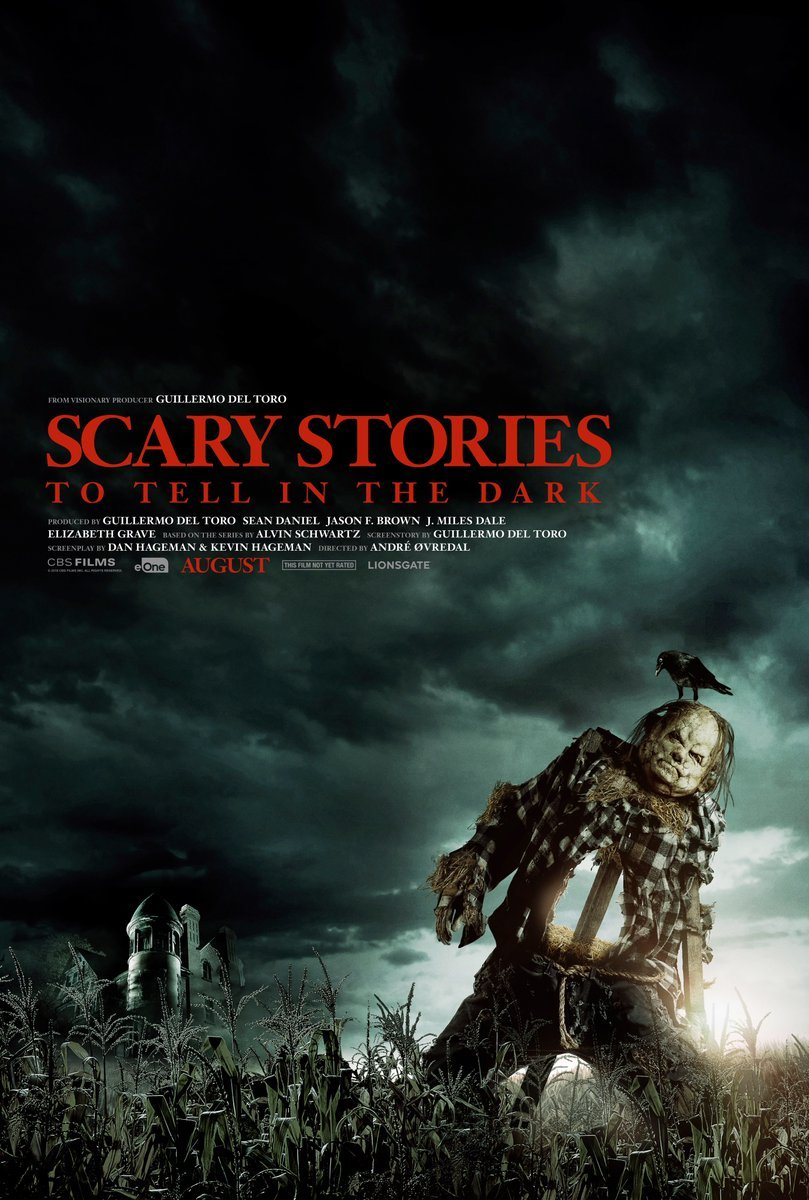 "Super Bowl Clips & Poster zu ""Scary Stories to Tell in the Dark"""