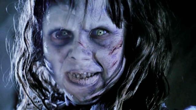 """Linda Blair in dem Horrorfilm """"Der Exorzist"""" von 1973"""