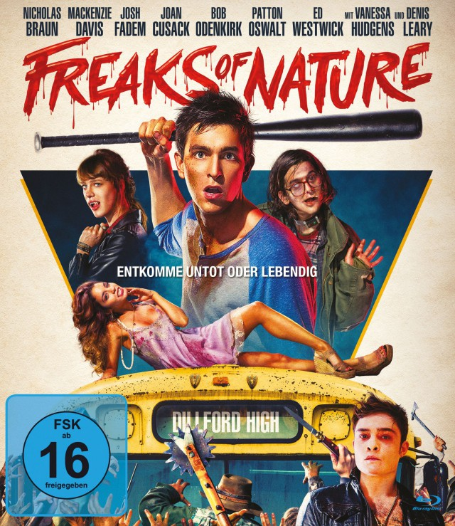Freaks of Nature - Blu-ray Cover FSK 16