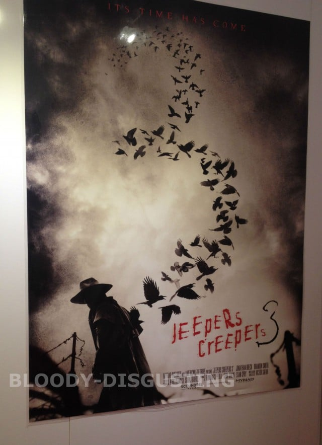 Jeepers Creepers 3 Sales Artwork