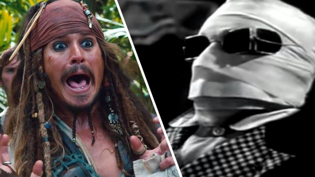 "Johnny Depp spielt ""The Invisible Man"" in Universal's Neuinszenierung des Monster-Klassikers"