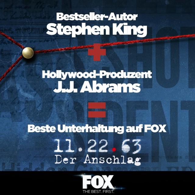 11.22.63 – Der Anschlag FOX Channel