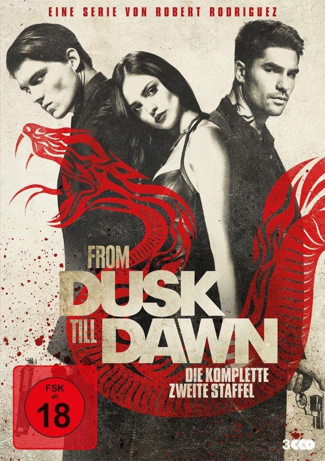 From Dusk Till Dawn - Staffel 2 - DVD Cover FSK 18
