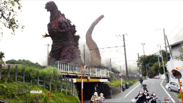 """Trailer zu Japan's neuem """"Godzilla"""" Film hinterlässt seine Spuren"""