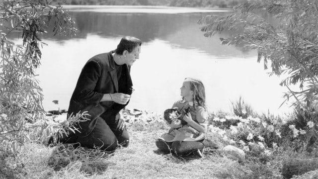 1931 wurde Marry Shelley's Frankenstein zum ersten Mal verfilmt.
