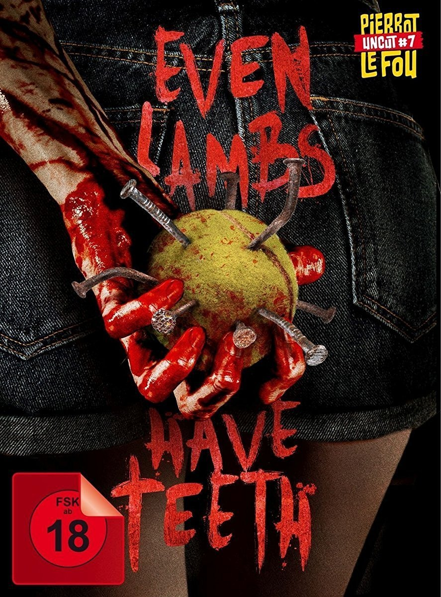 Book Cover White Teeth : Even lambs have teeth film scary movies