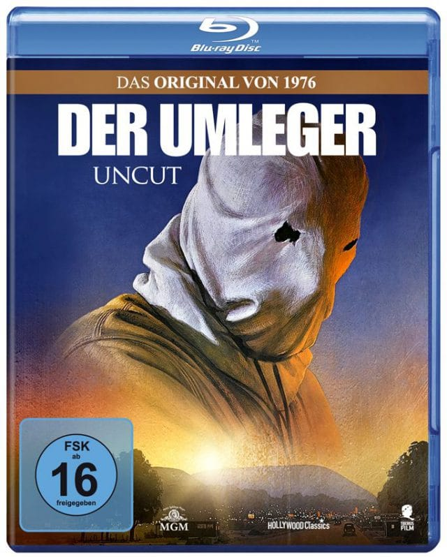 Der Umleger - Blu-ray Cover FSK 16