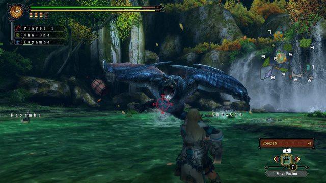 "Screenshot aus ""Monster Hunter 3 Ultimate"" für Nintendo Wii U"