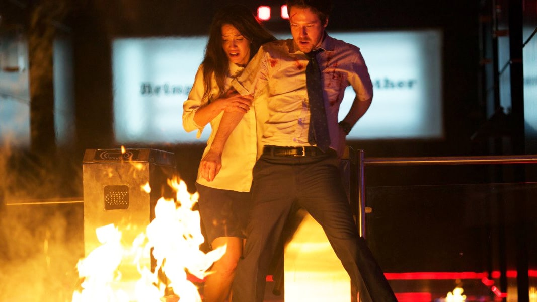 "Blutiger Tag im Büro im offiziellen ""The Belko Experiment"" Red Band Trailer"