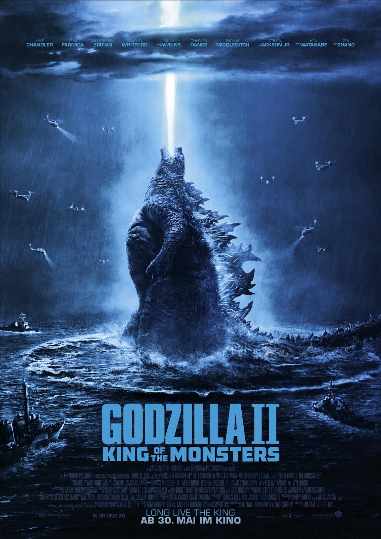 Der König der Monster erhält sein deutsches Kinoposter